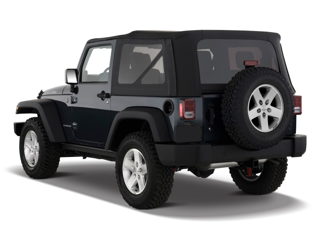 image 2009 jeep wrangler 4wd 2 door rubicon angular rear. Black Bedroom Furniture Sets. Home Design Ideas