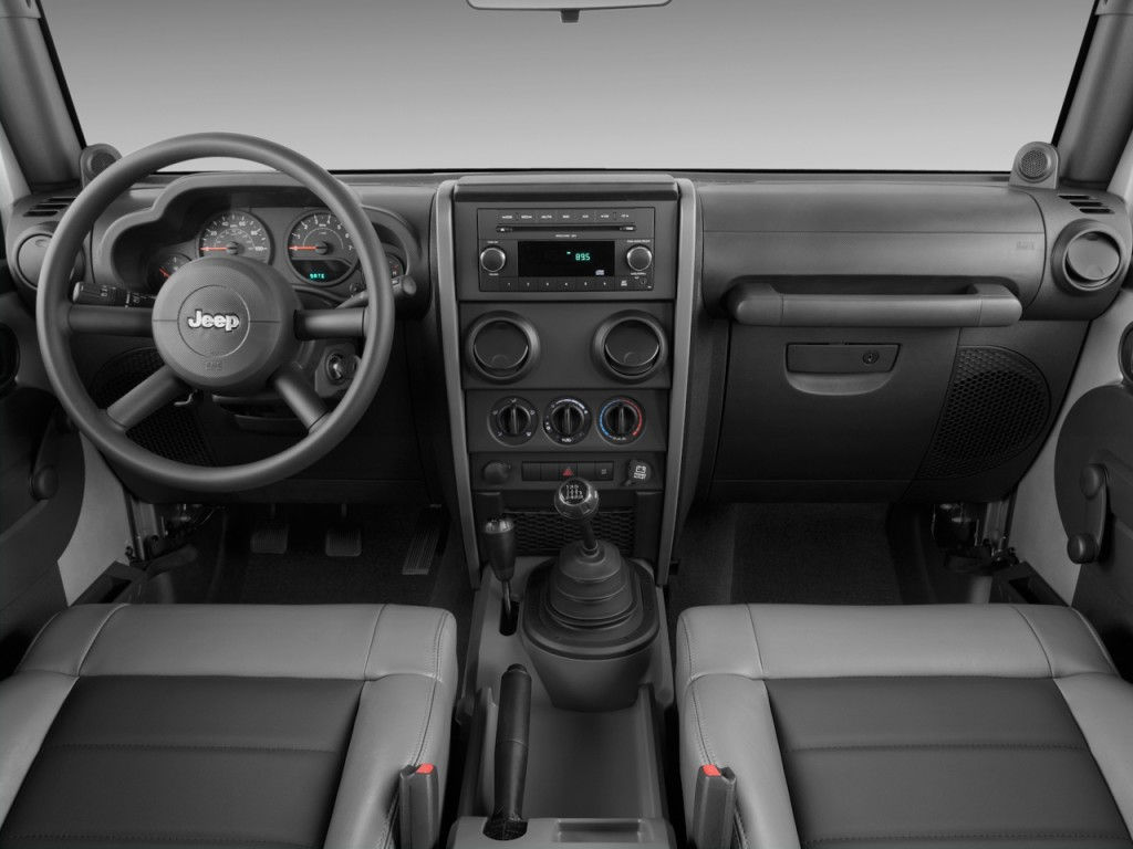 image 2009 jeep wrangler 4wd 2 door x dashboard size. Black Bedroom Furniture Sets. Home Design Ideas