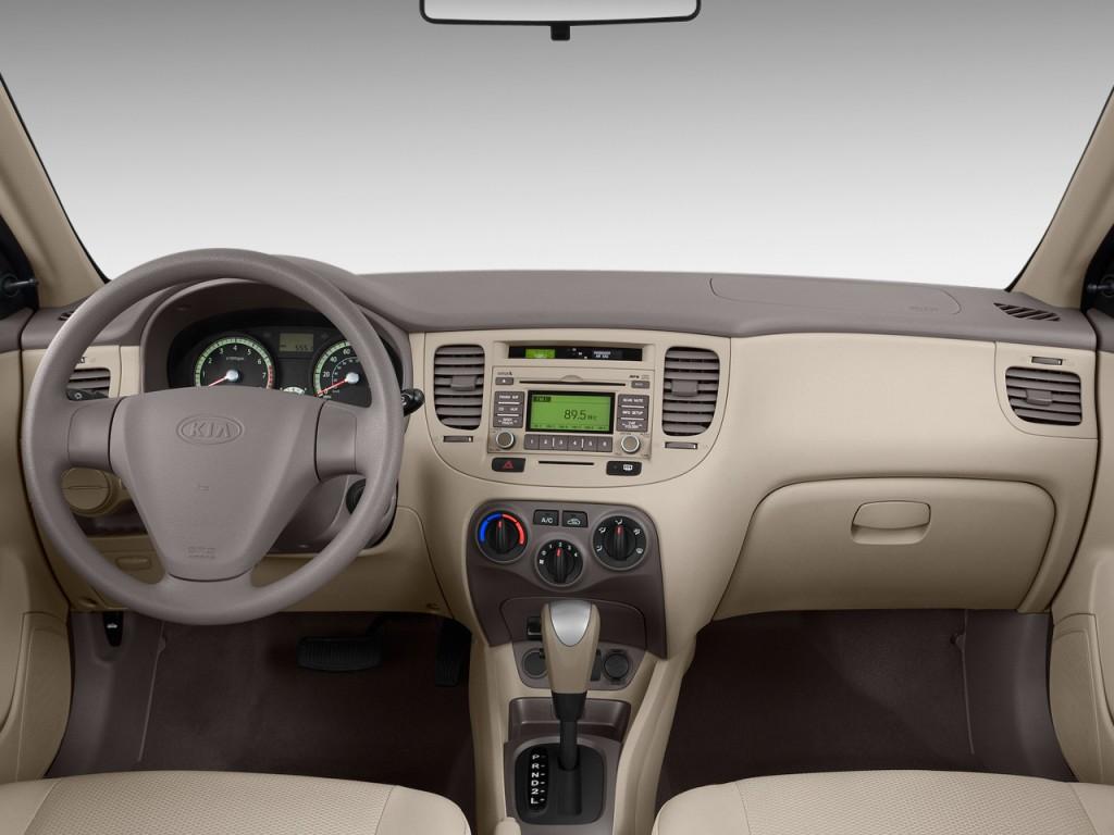 Used Kia Niro >> Image: 2009 Kia Rio 4-door Sedan Auto LX Dashboard, size ...