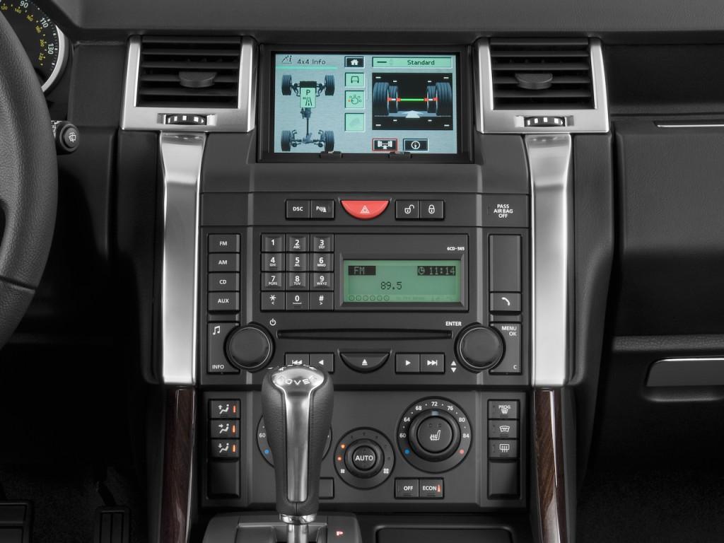 Image: 2009 Land Rover Range Rover Sport 4WD 4-door SC ...