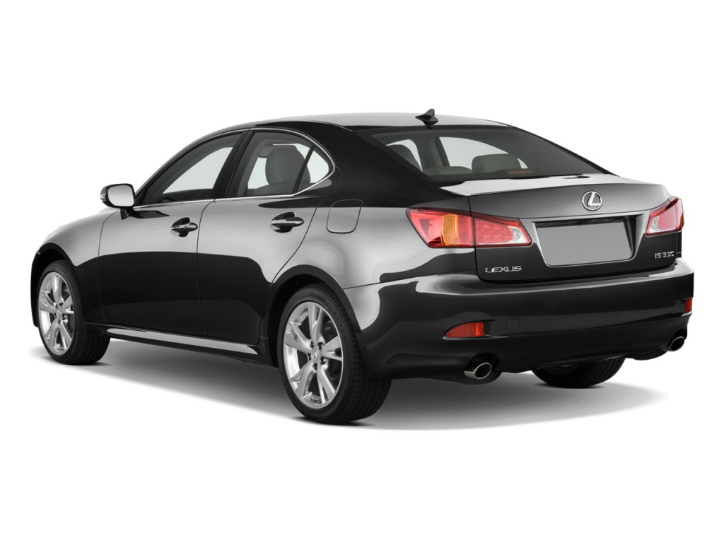 Image 2009 Lexus Is 350 4 Door Sport Sedan Auto Angular Rear Exterior View Size 1024 X 768