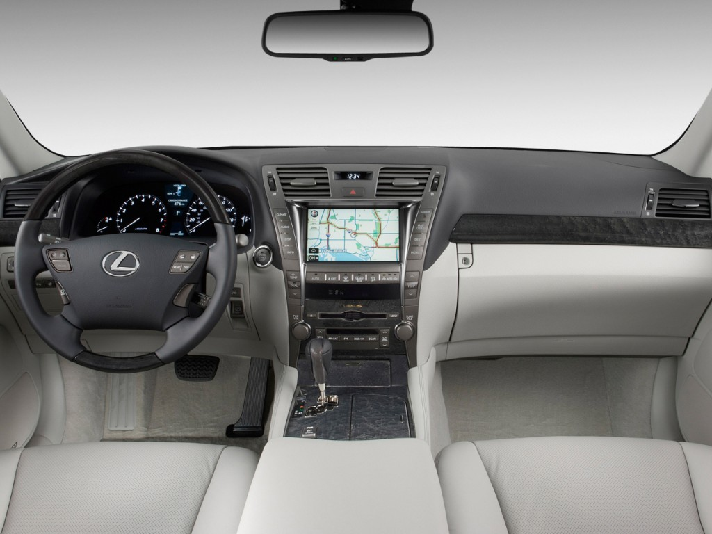 image 2009 lexus ls 460 4 door sedan rwd dashboard size 1024 x 768 type gif posted on. Black Bedroom Furniture Sets. Home Design Ideas