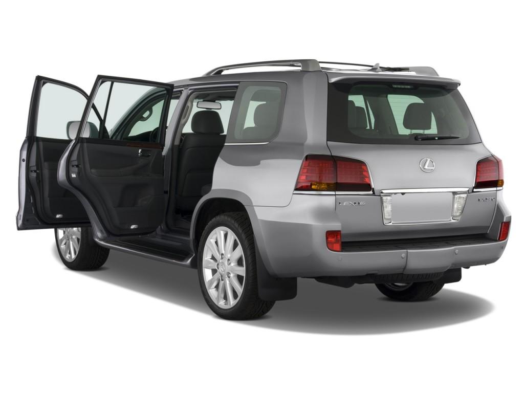 Image: 2009 Lexus LX 570 4WD 4-door Open Doors, size: 1024 ...
