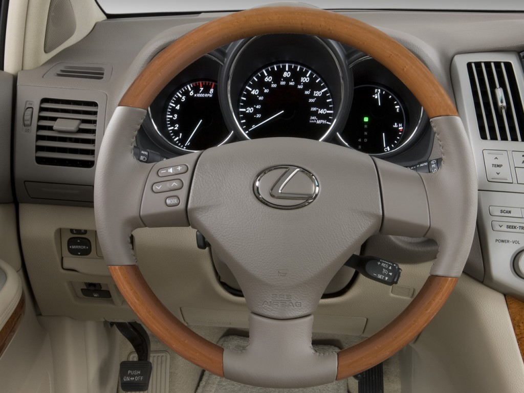 image 2009 lexus rx 350 fwd 4 door steering wheel size. Black Bedroom Furniture Sets. Home Design Ideas
