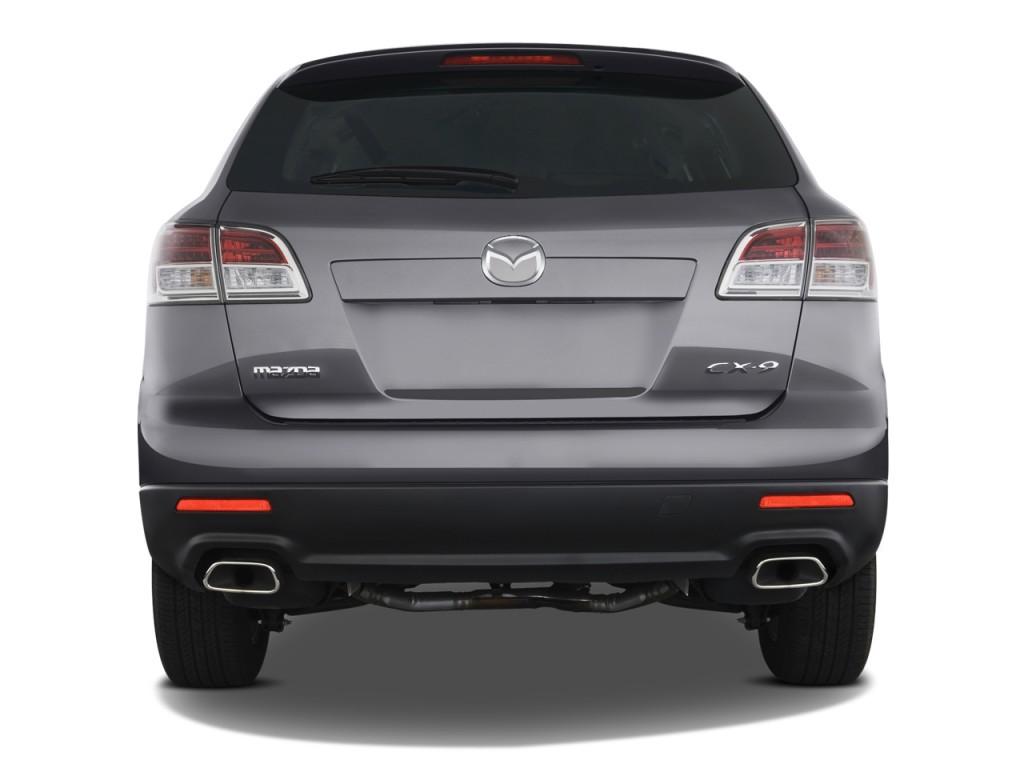 Image 2009 Mazda Cx 9 Fwd 4 Door Sport Rear Exterior View