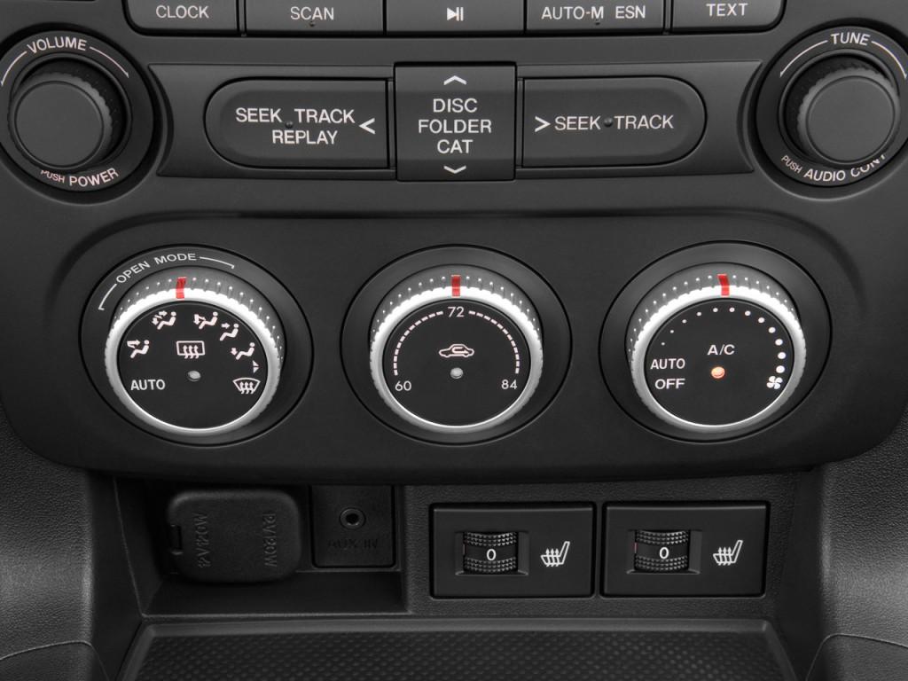 Image 2009 Mazda Mx 5 Miata 2 Door Convertible Prht Man Grand Touring Temperature Controls