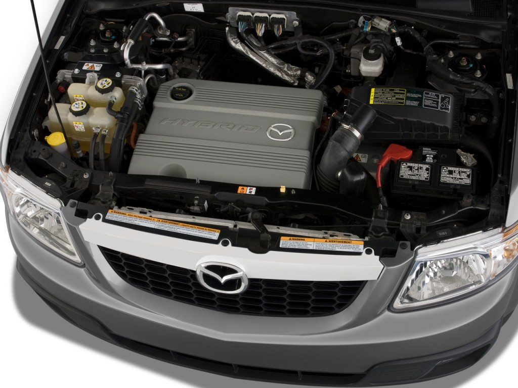 Image: 2009 Mazda Tribute FWD I4 Hybrid Touring Engine ...