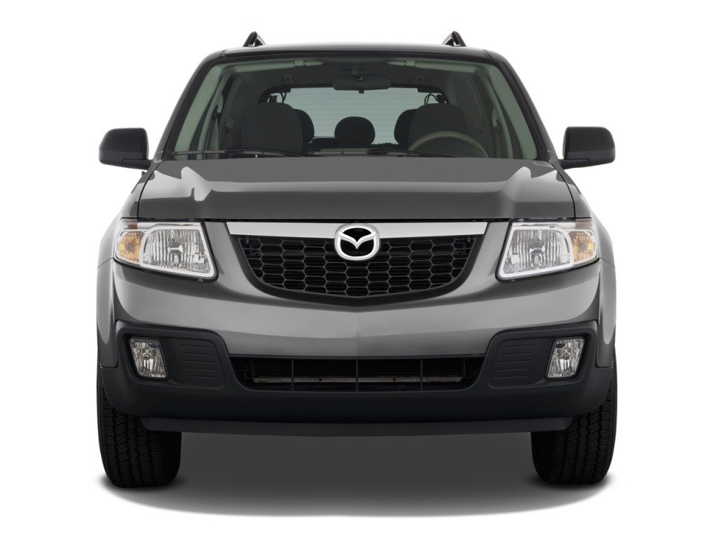 Image 2009 Mazda Tribute Fwd I4 Hybrid Touring Front Exterior View Size 1024 X 768 Type Gif