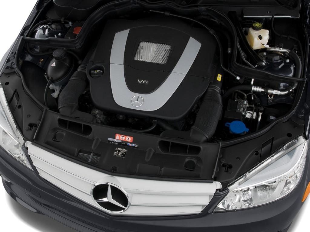 Image 2009 mercedes benz c class 4 door sedan 3 5l sport for Mercedes benz c class engine