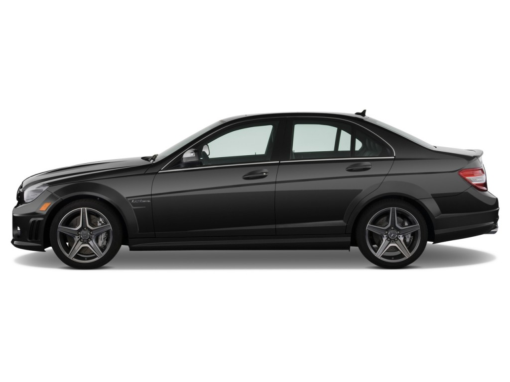 Image 2009 Mercedes Benz C Class 4 Door Sedan 6 3l Amg Rwd Side Exterior View Size 1024 X 768