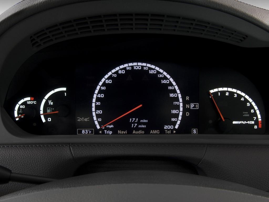 Image: 2009 Mercedes-Benz CL Class 2-door Coupe 6.3L V8 ...