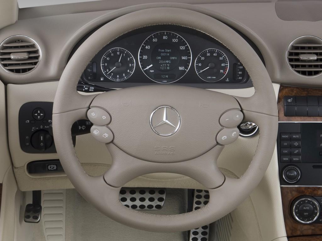 Image: 2009 Mercedes-Benz CLK Class 2-door Cabriolet 3.5L ...