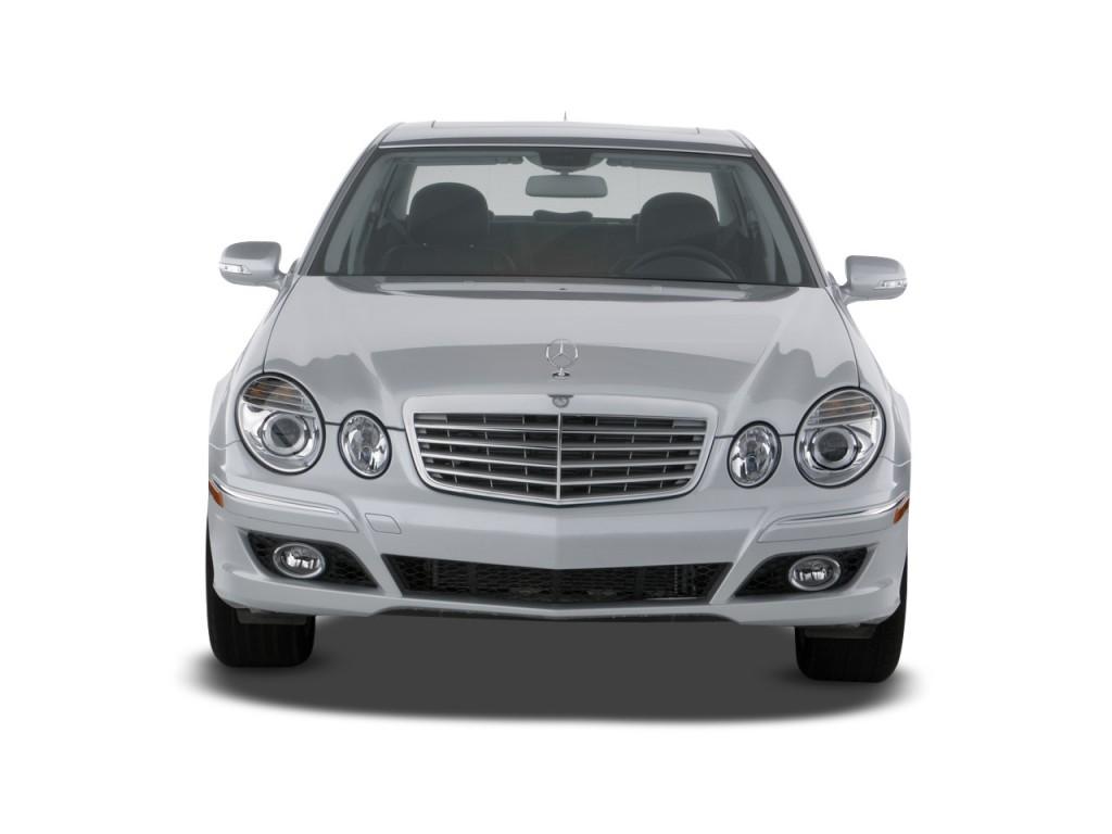 Image 2009 Mercedes Benz E Class 4 Door Sedan 3 0l Bluetec Rwd Front Exterior View Size 1024