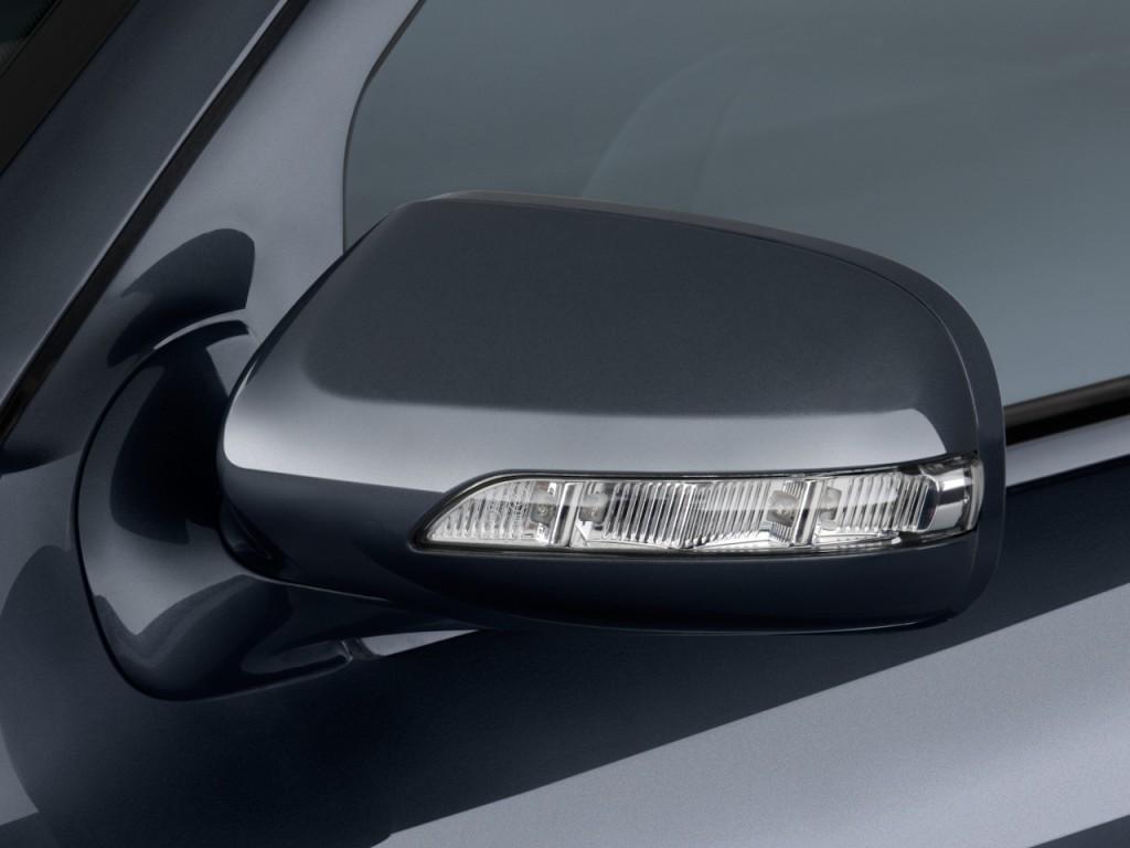 Image 2009 mercedes benz e class 4 door sedan sport 5 5l for Mercedes benz mirror