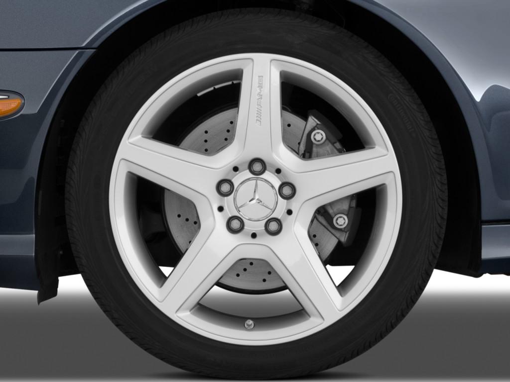 Image 2009 mercedes benz e class 4 door sedan sport 5 5l for Mercedes benz e350 tire size