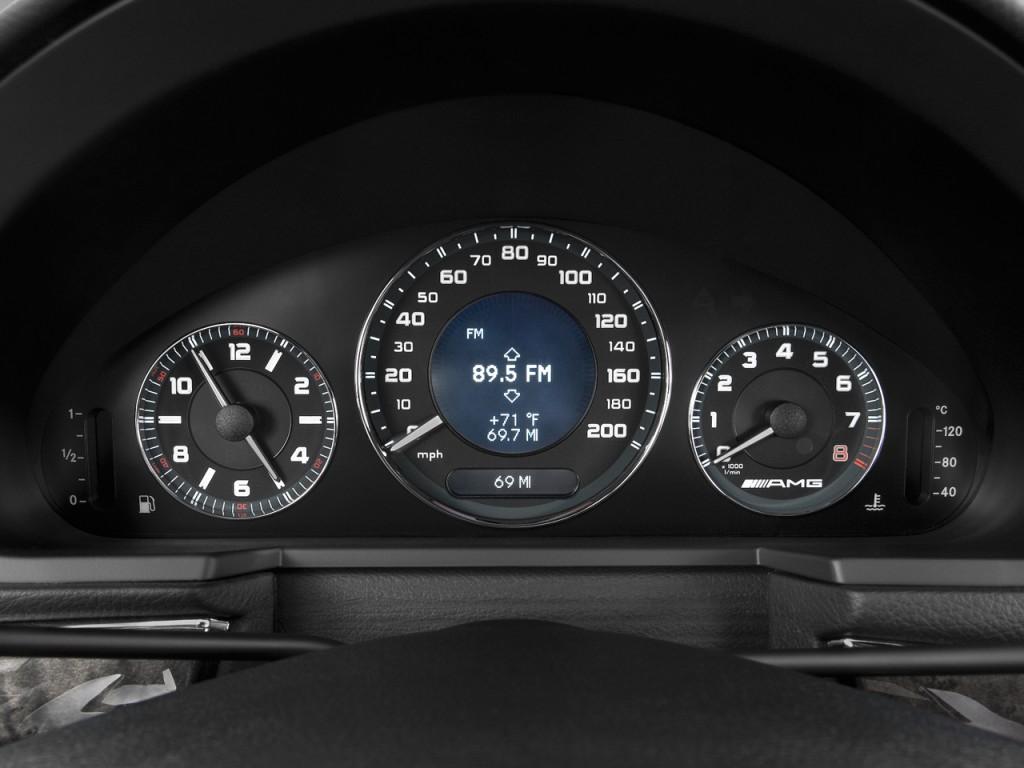 Image: 2009 Mercedes-Benz E Class 4-door Wagon 6.3L AMG ...