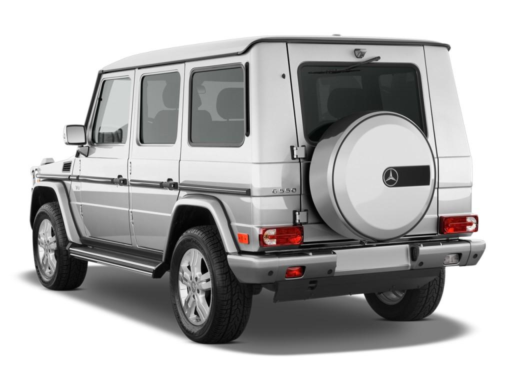 image 2009 mercedes benz g class 4wd 4 door 5 5l angular rear exterior view size 1024 x 768. Black Bedroom Furniture Sets. Home Design Ideas