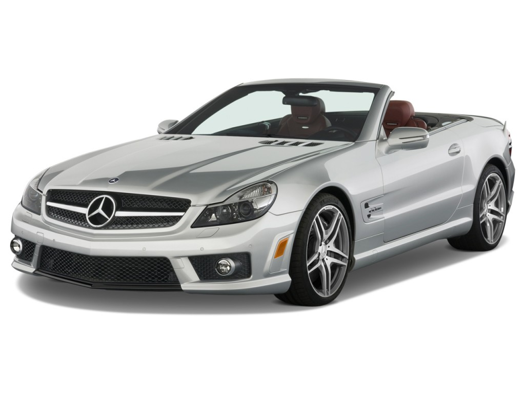 image 2009 mercedes benz sl class 2 door roadster 6 2l. Black Bedroom Furniture Sets. Home Design Ideas