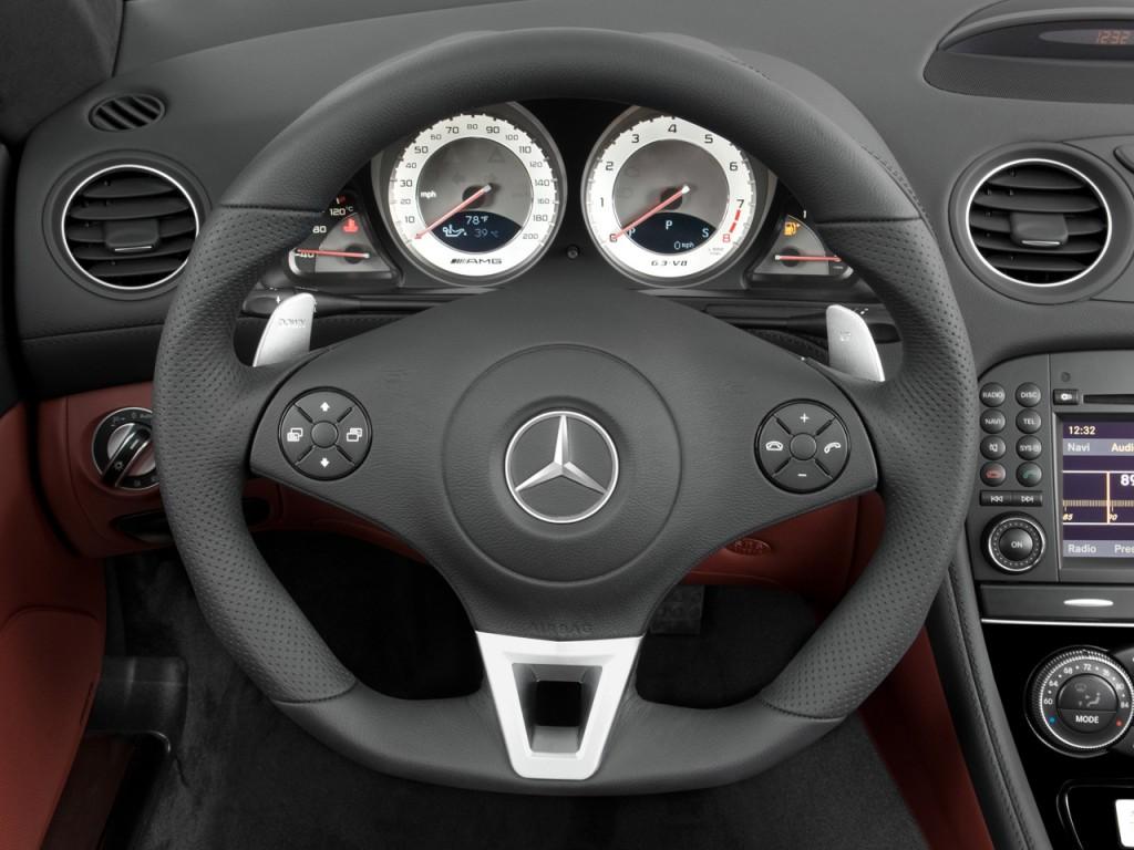 Image: 2009 Mercedes-Benz SL Class 2-door Roadster 6.2L ...