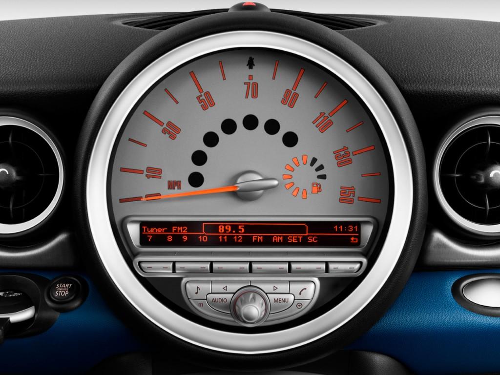 Image 2009 Mini Cooper Clubman 2 Door Coupe S Instrument