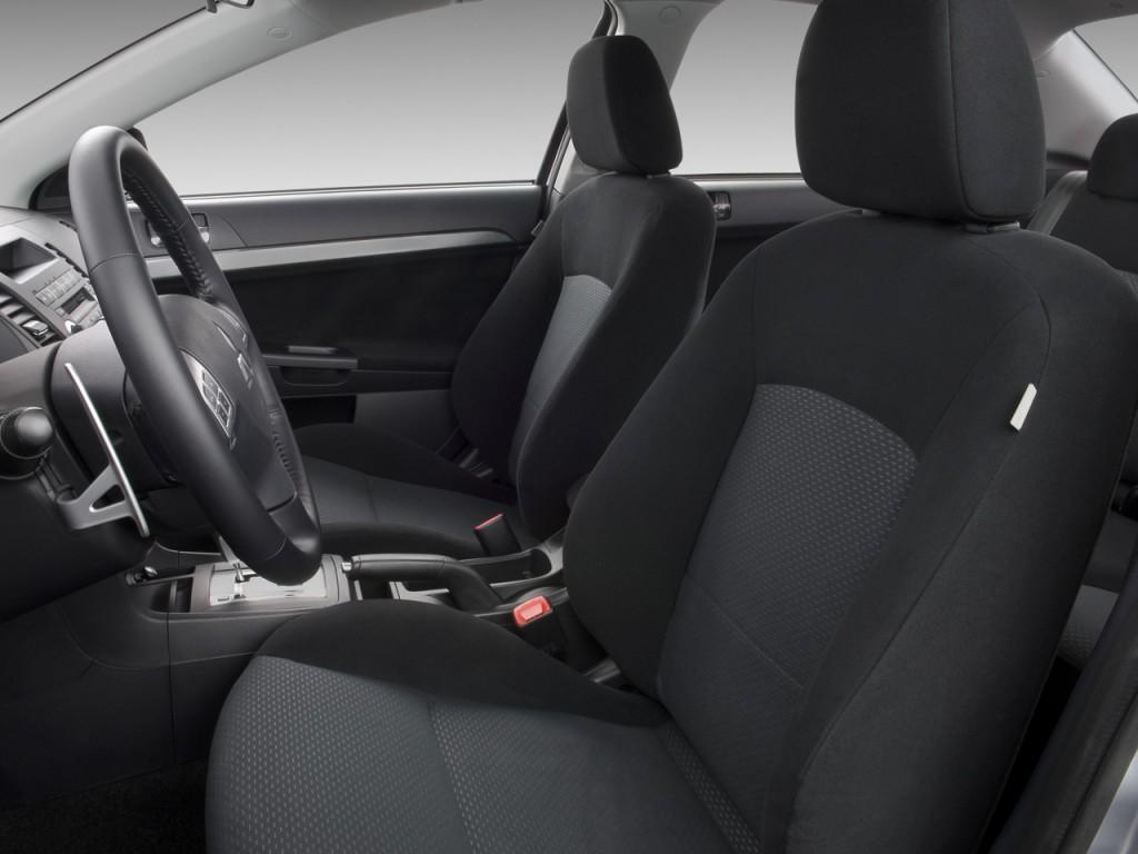 Image 2009 Mitsubishi Lancer 4 Door Sedan Cvt Gts Front Seats Size 1024 X 768 Type Gif
