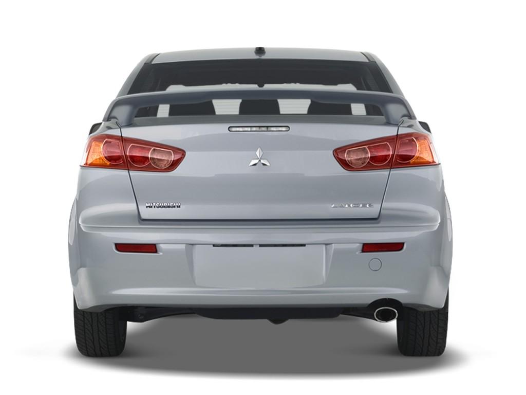 Image 2009 Mitsubishi Lancer 4 Door Sedan Cvt Gts Rear
