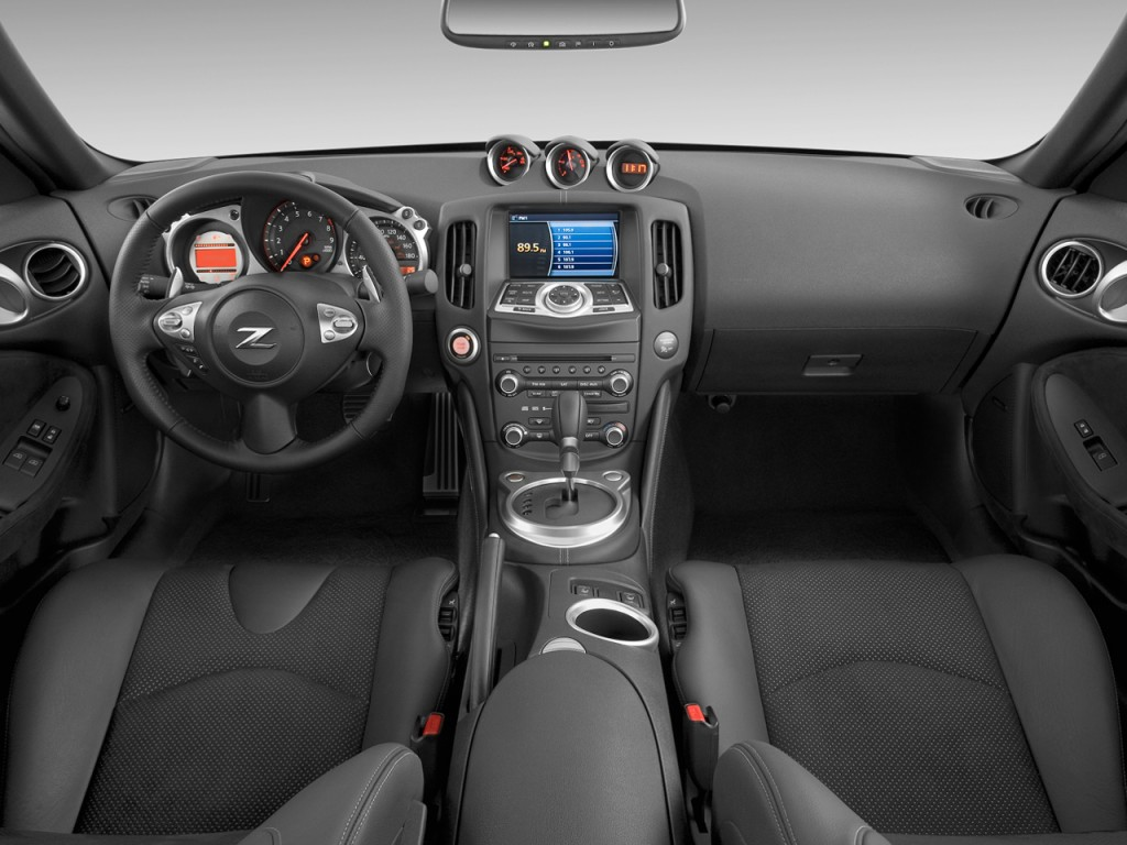 Image: 2009 Nissan 370Z 2-door Coupe Auto Dashboard, size ...
