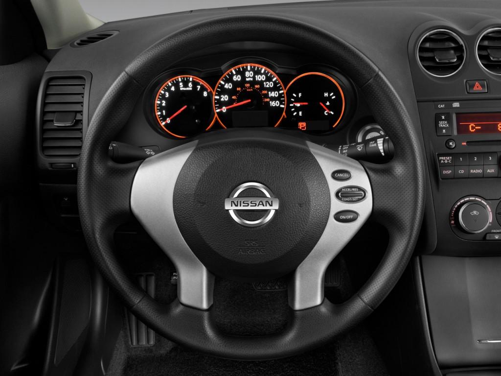 image 2009 nissan altima 4 door sedan i4 cvt s steering wheel size 1024 x 768 type gif. Black Bedroom Furniture Sets. Home Design Ideas