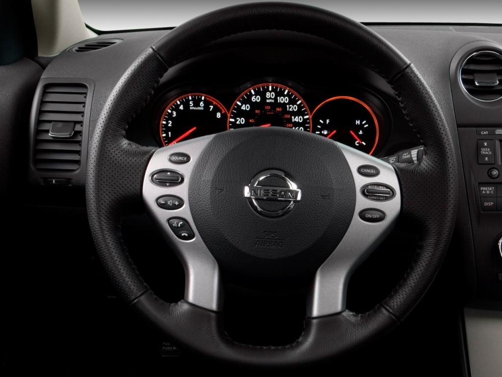 image 2009 nissan altima 4 door sedan i4 cvt steering wheel size 1024 x 768 type gif. Black Bedroom Furniture Sets. Home Design Ideas