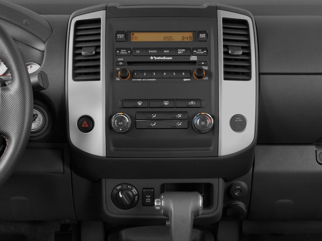 Image 2009 Nissan Frontier 4wd Crew Cab Swb Auto Pro 4x