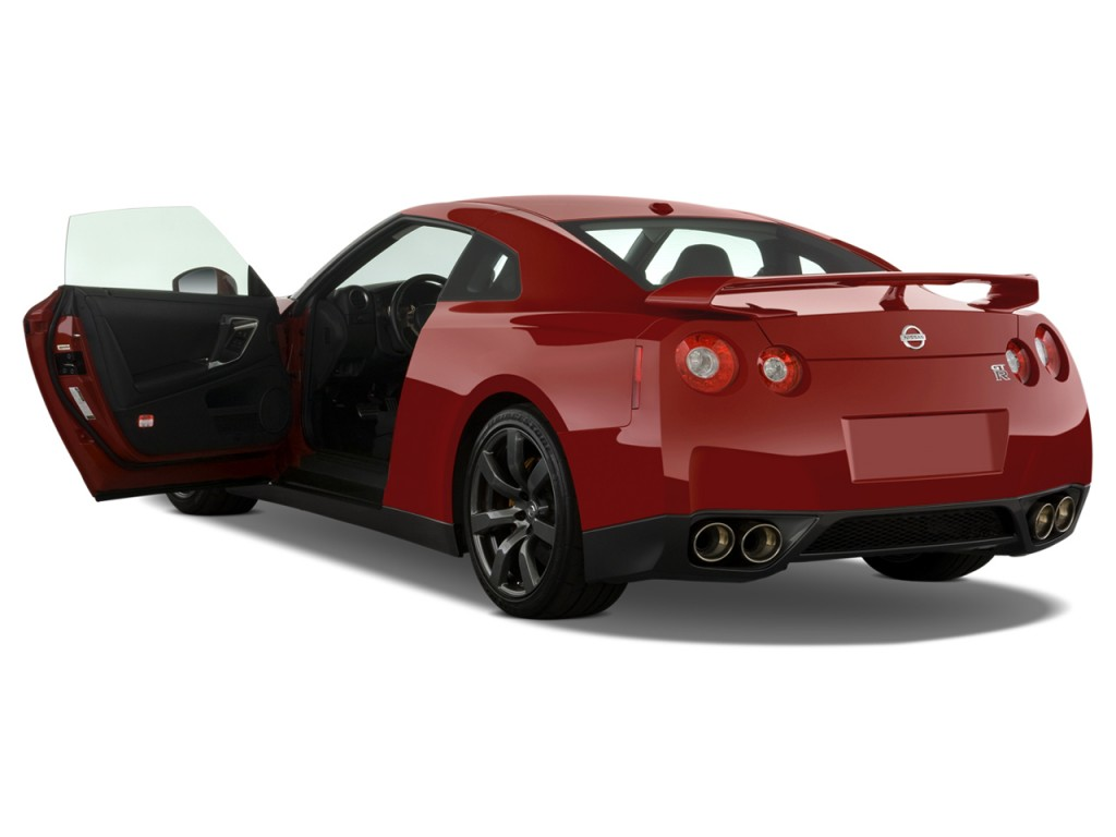 2009 Nissan GT R 2 Door Coupe Open Doors
