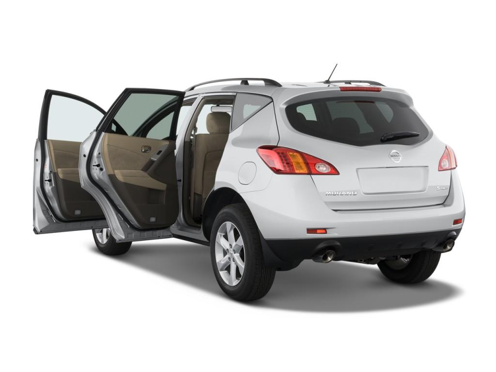 Image: 2009 Nissan Murano 2WD 4-door S Open Doors, size ...