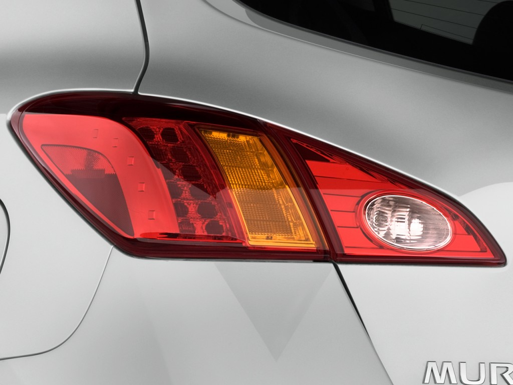 Image: 2009 Nissan Murano AWD 4-door LE Tail Light, size ...