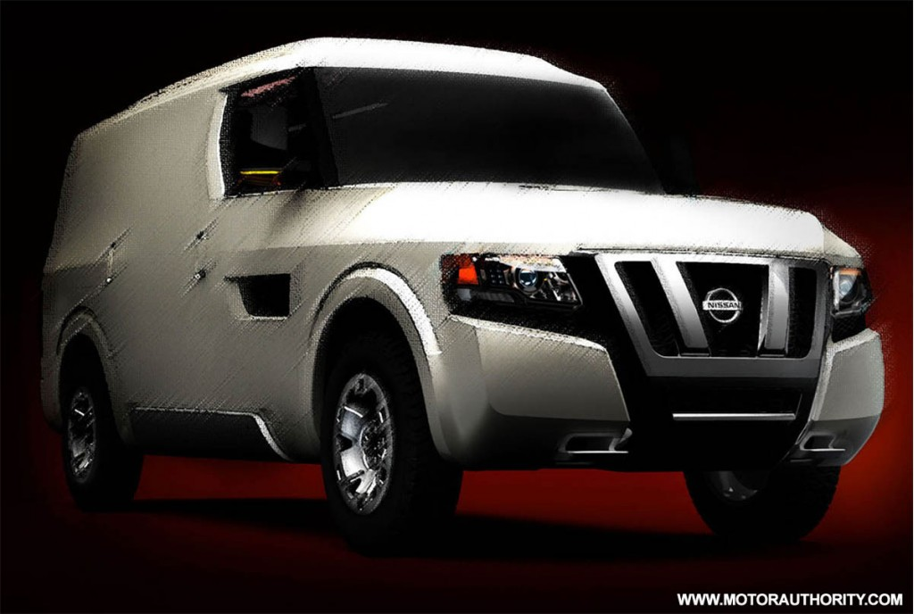 Image: 2009 nissan nv250 concept 001, size: 1024 x 688 ...