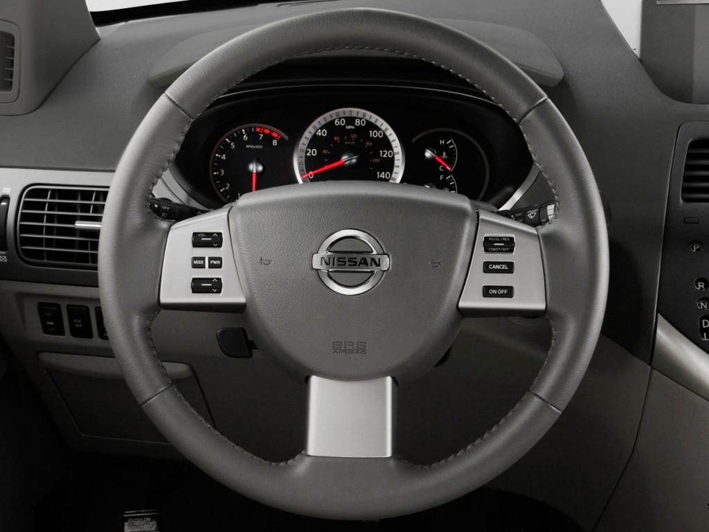 Image 2009 Nissan Quest 4 Door Se Steering Wheel Size