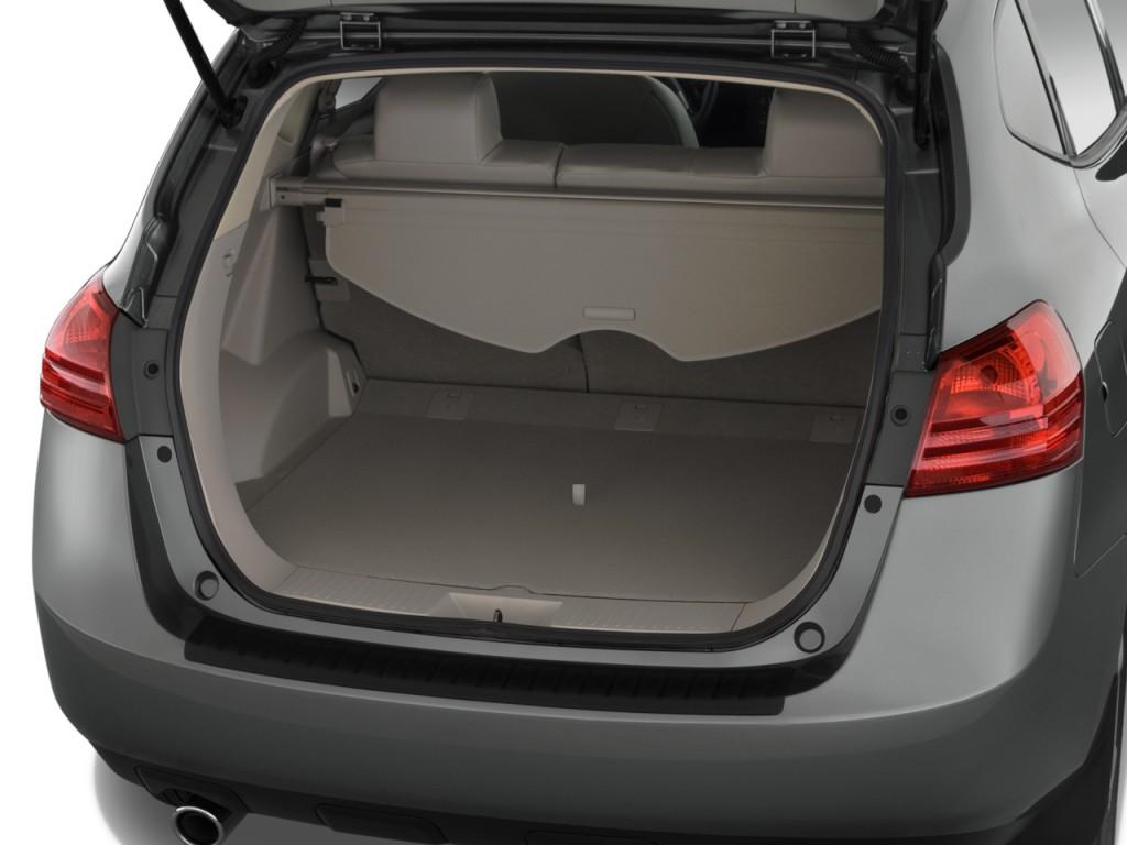 Image 2009 Nissan Rogue Fwd 4 Door Sl Trunk Size 1024 X