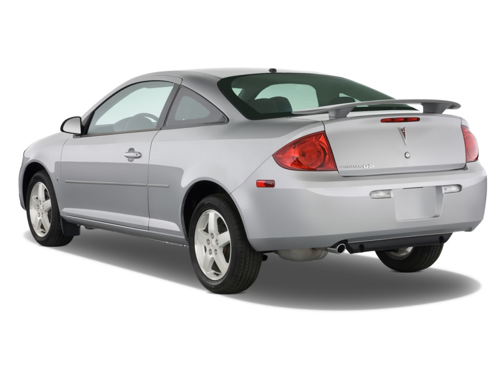 image 2009 pontiac g5 2 door coupe angular rear exterior. Black Bedroom Furniture Sets. Home Design Ideas