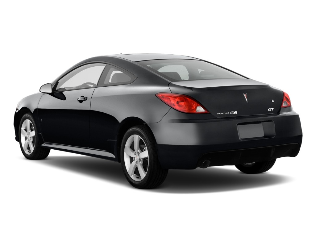 Image 2009 Pontiac G6 2 Door Coupe Gt W 1sa Ltd Avail Angular Rear Exterior View Size 1024