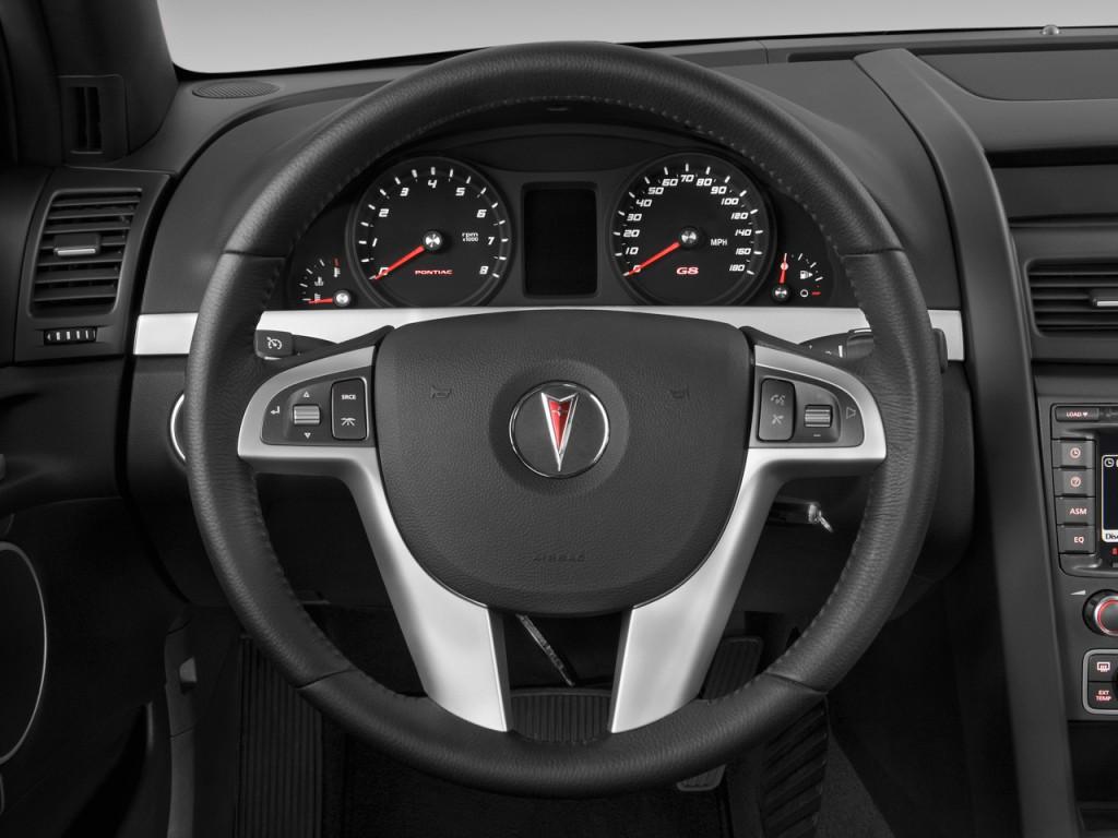 image 2009 pontiac g8 4 door sedan gt steering wheel. Black Bedroom Furniture Sets. Home Design Ideas