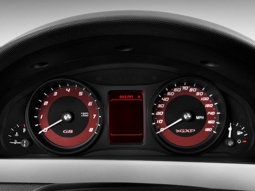 Image 2009 Pontiac G8 4 Door Sedan Gxp Instrument Cluster
