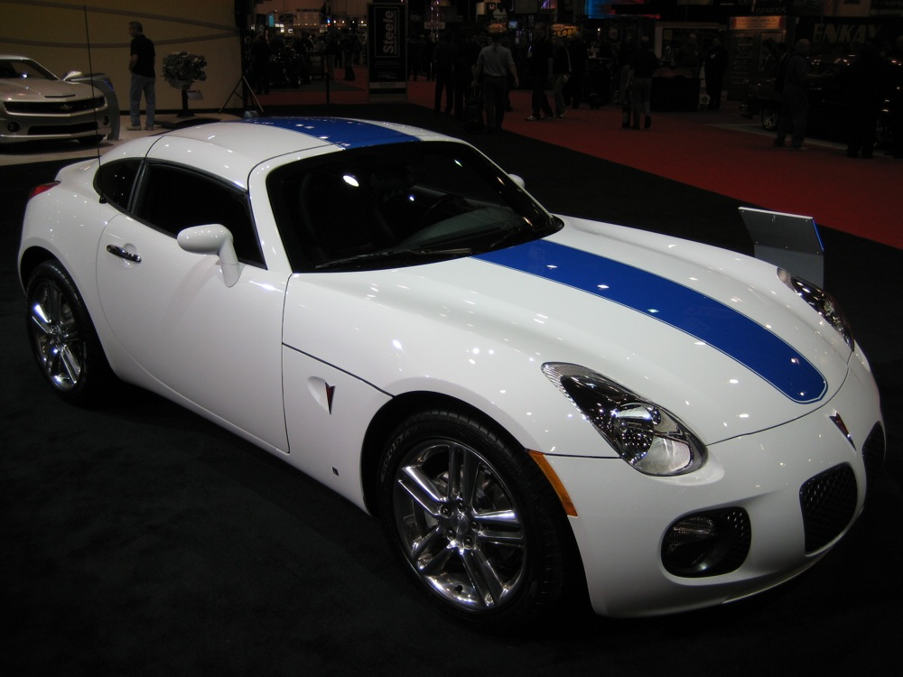 SEMA 2008: 2009 Pontiac Solstice Coupe Is Still Standing