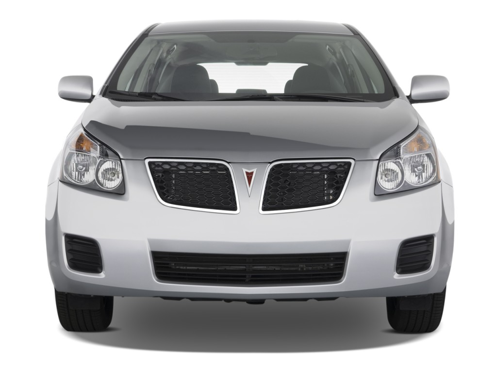 Image 2009 Pontiac Vibe 4 Door Hb Fwd W 1sa Front Exterior View Size 1024 X 768 Type Gif