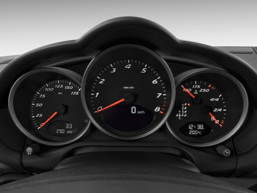 Image 2009 Porsche Cayman 2 Door Coupe Instrument Cluster