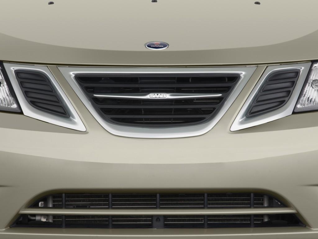 Image 2009 Saab 9 3 4 Door Wagon 2 0t Sport Grille Size