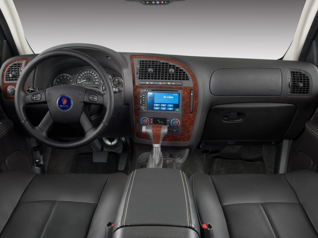 Image 2009 Saab 9 7x Awd 4 Door Aero Dashboard Size