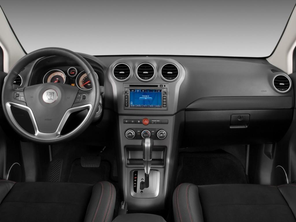 Image 2009 Saturn Vue Awd 4 Door V6 Red Line Dashboard