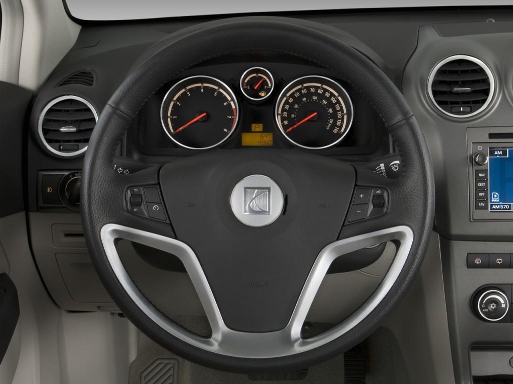 Image: 2009 Saturn VUE FWD 4-door V6 XR Steering Wheel ...