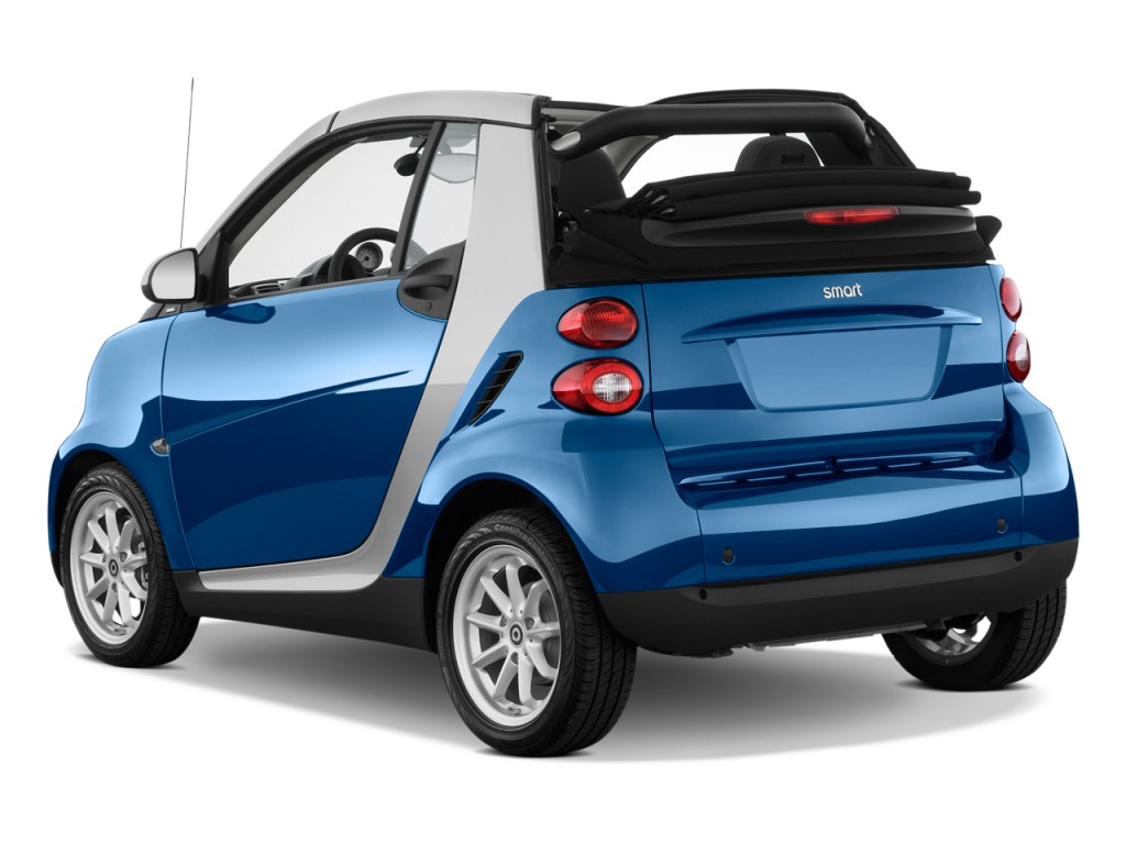 Image 2009 Smart Fortwo 2 Door Cabriolet Passion Angular