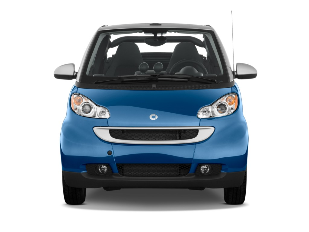image 2009 smart fortwo 2 door cabriolet passion front exterior view size 1024 x 768 type. Black Bedroom Furniture Sets. Home Design Ideas