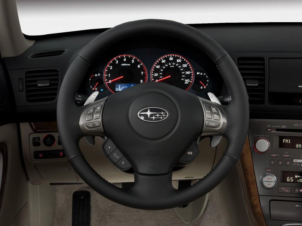Image: 2009 Subaru Legacy 4-door H4 Auto GT Ltd Steering ...